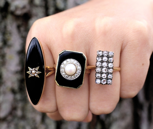 Antique Statement Rings
