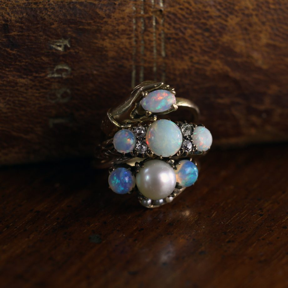 Victorian Opal Rings
