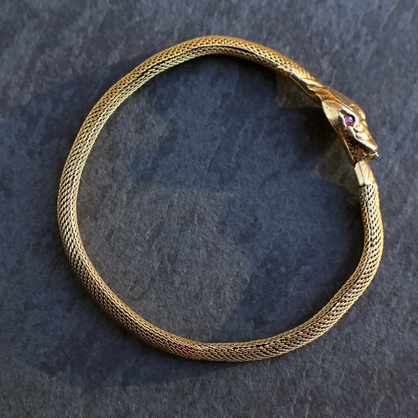 Antique Snake Bracelet