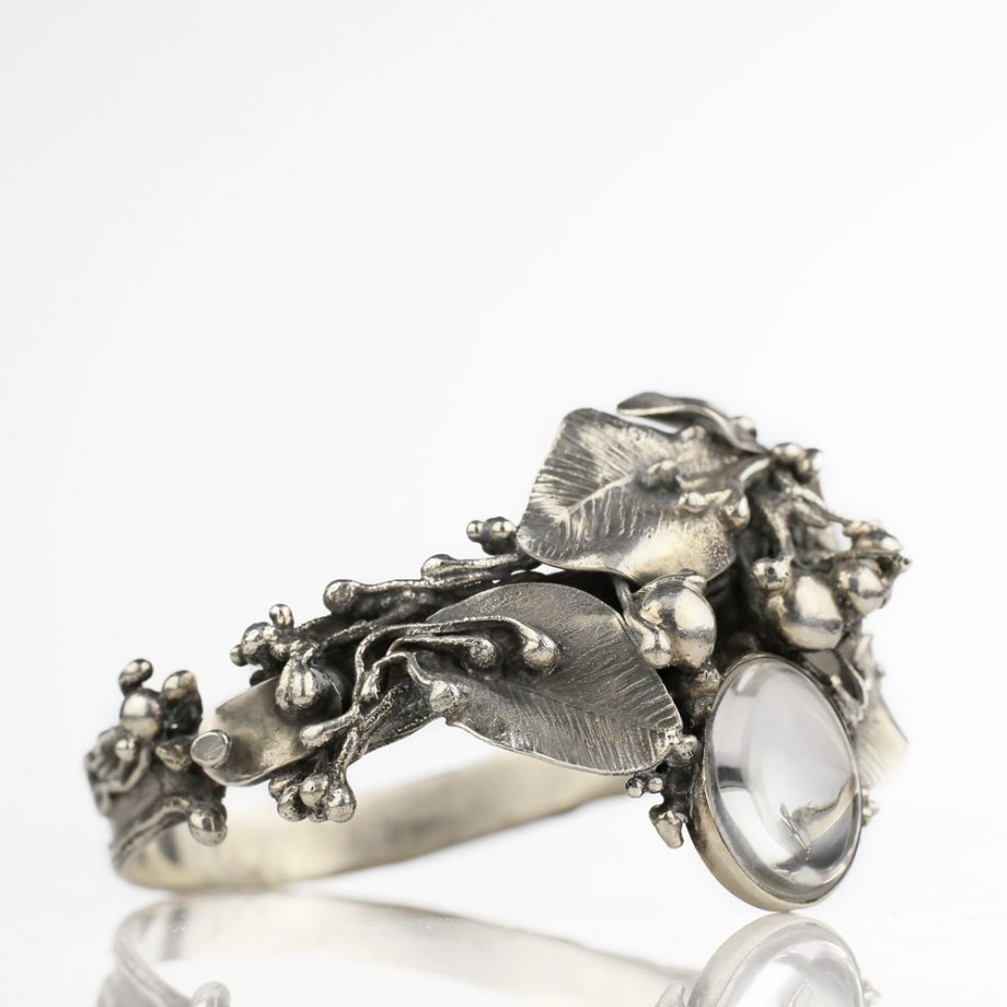 1900s Arts and Crafts Silver Bracelet