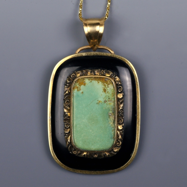 Georgian Mourning Pendant for a Child