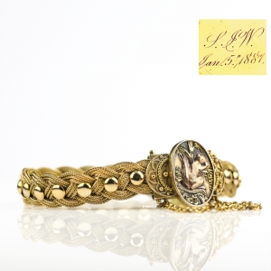 1887 Aesthetic Movement Victorian Bracelet