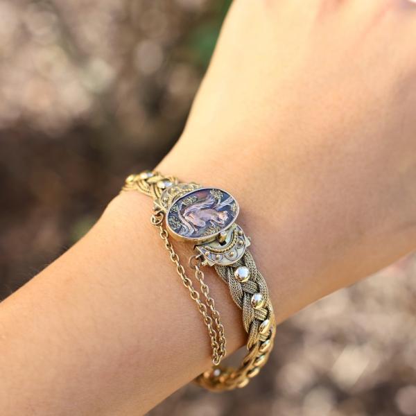 1887 Aesthetic Movement Victorian Bracelet