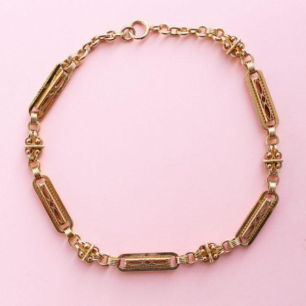 19th century watch chain