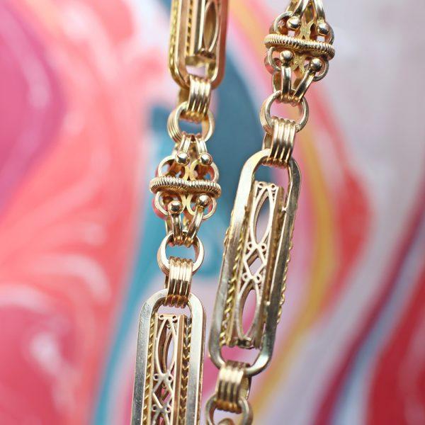 Fancy Victorian Watch Chain