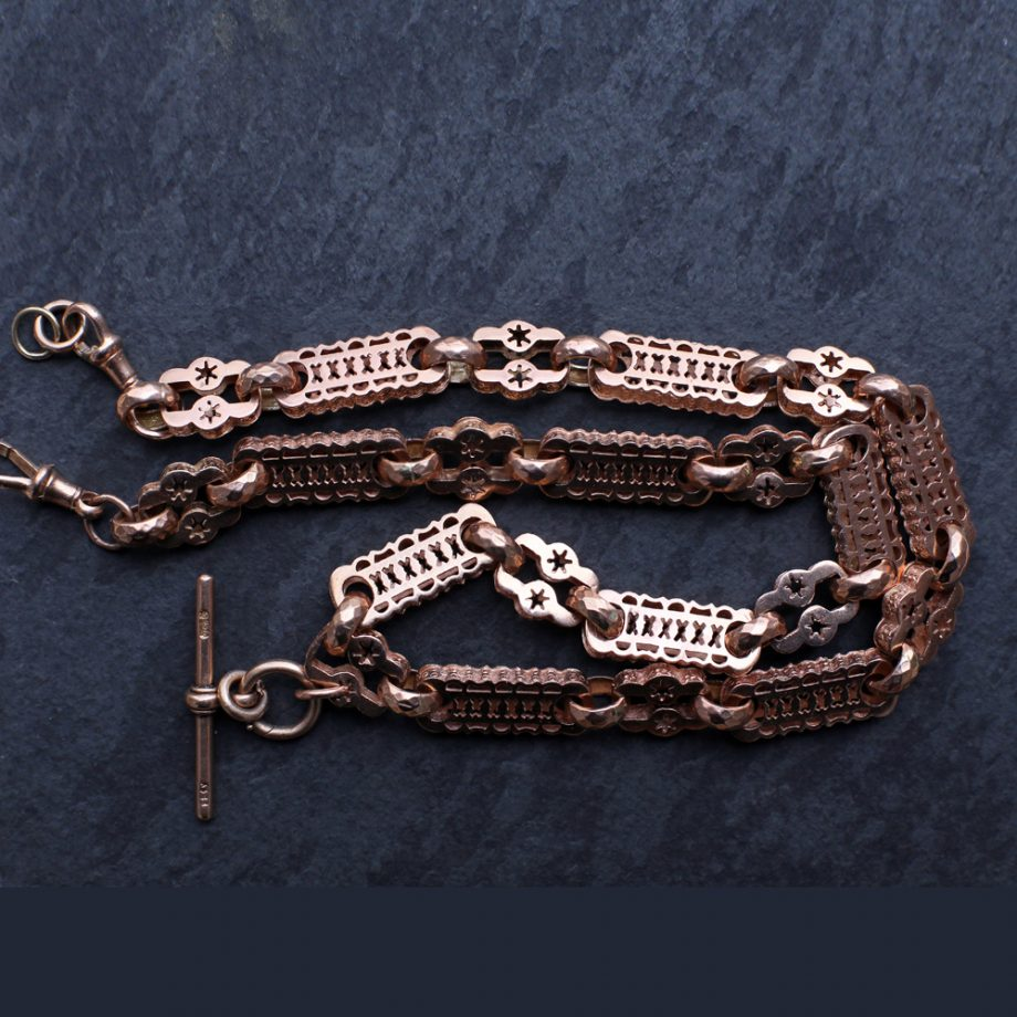 Antique Watch Chain Starry Links