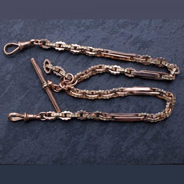 Victorian Gold Watch Chain