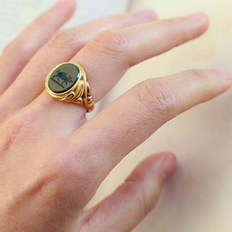 Antique Intaglio Ring