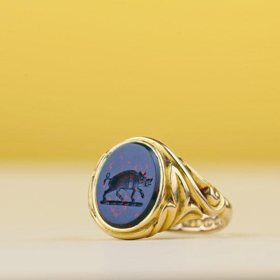 Victorian Intaglio Ring