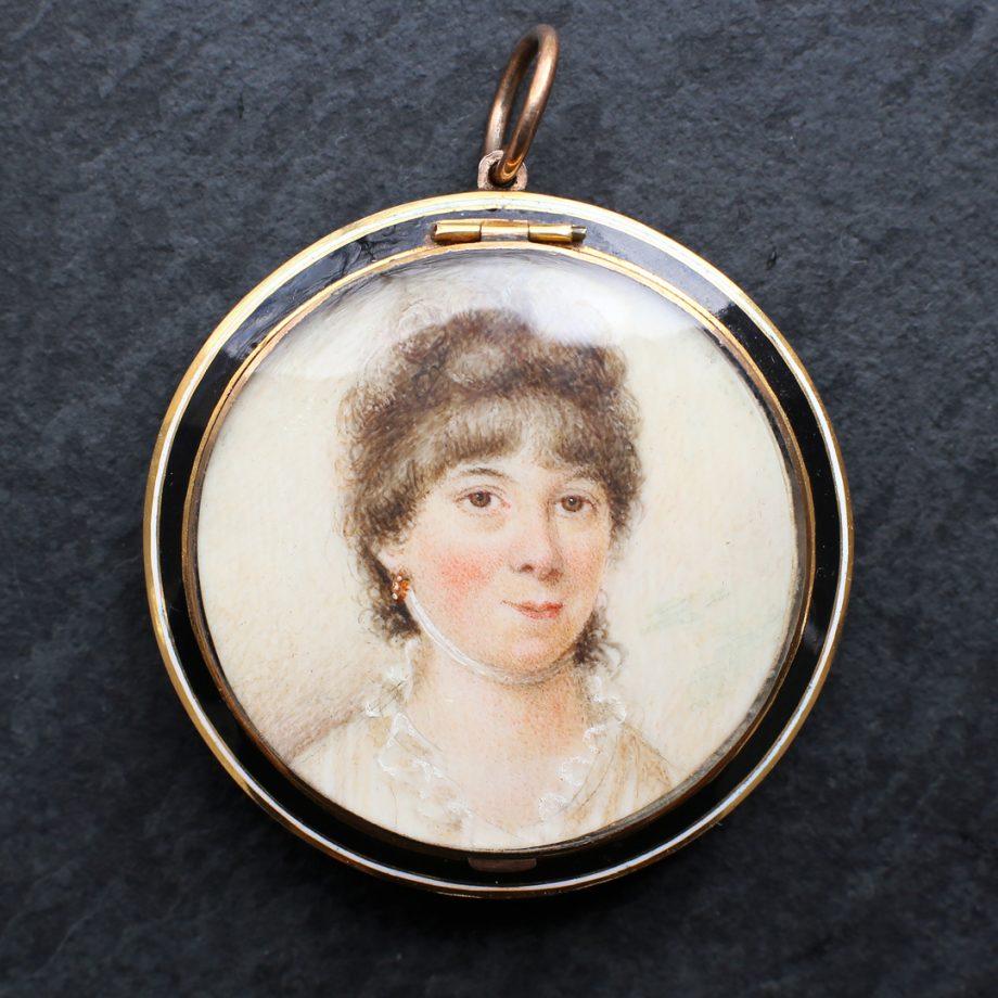 Georgian portrait miniature
