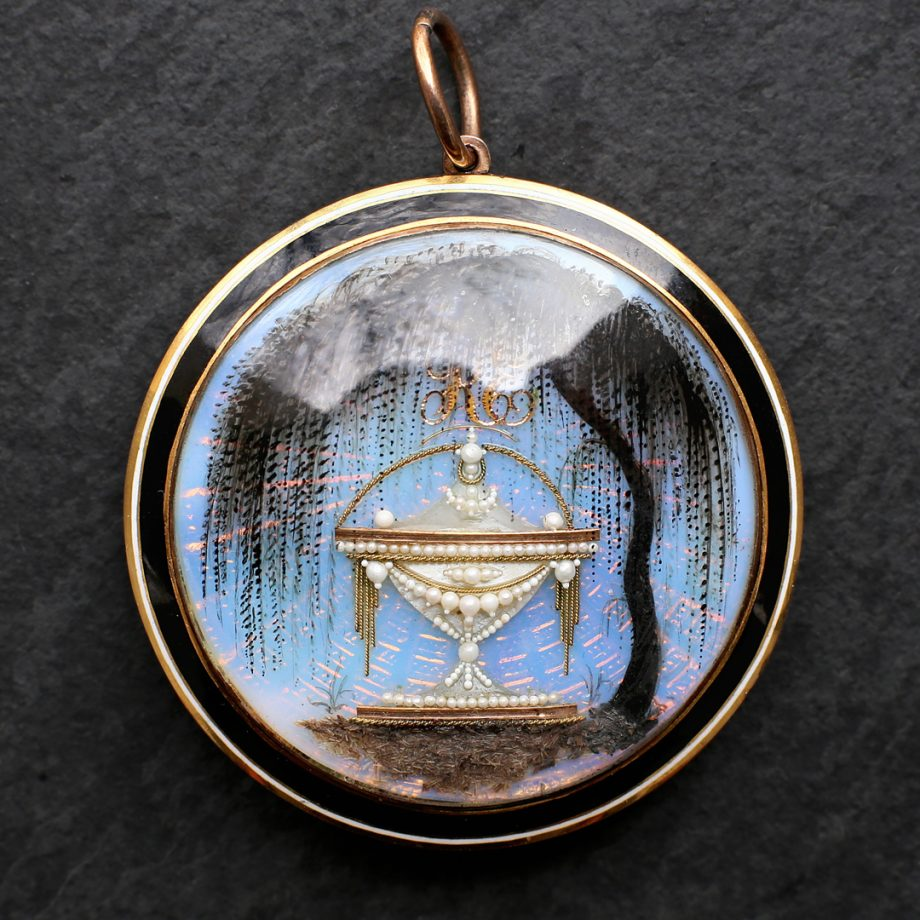 Georgian Mourning Pendant