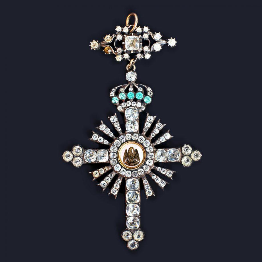 French Napoleonic Rose-Croix Jewel