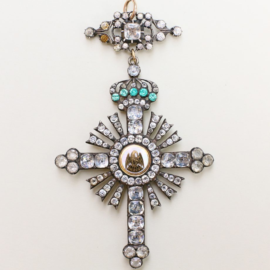 c. 1798-1809 French Napoleonic era Freemason Chevalier Rose-Croix (Knight of the Rose Cross) Jewel