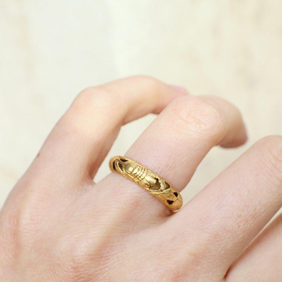 17th century posy ring