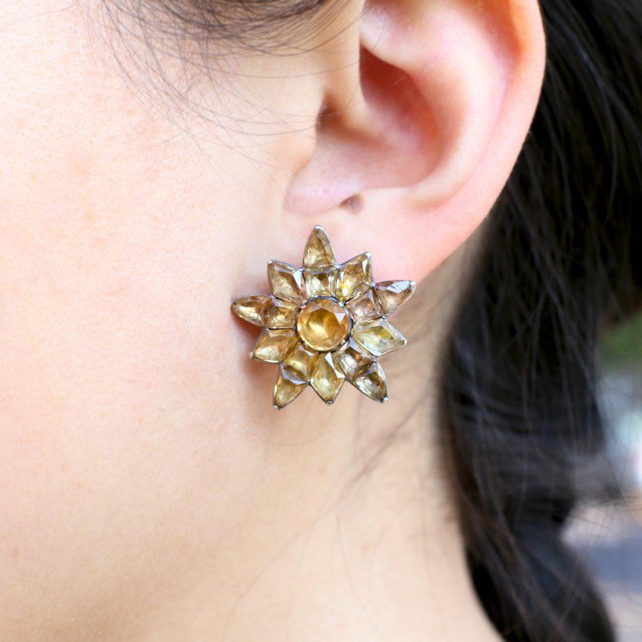 Portuguese Topaz Earrings