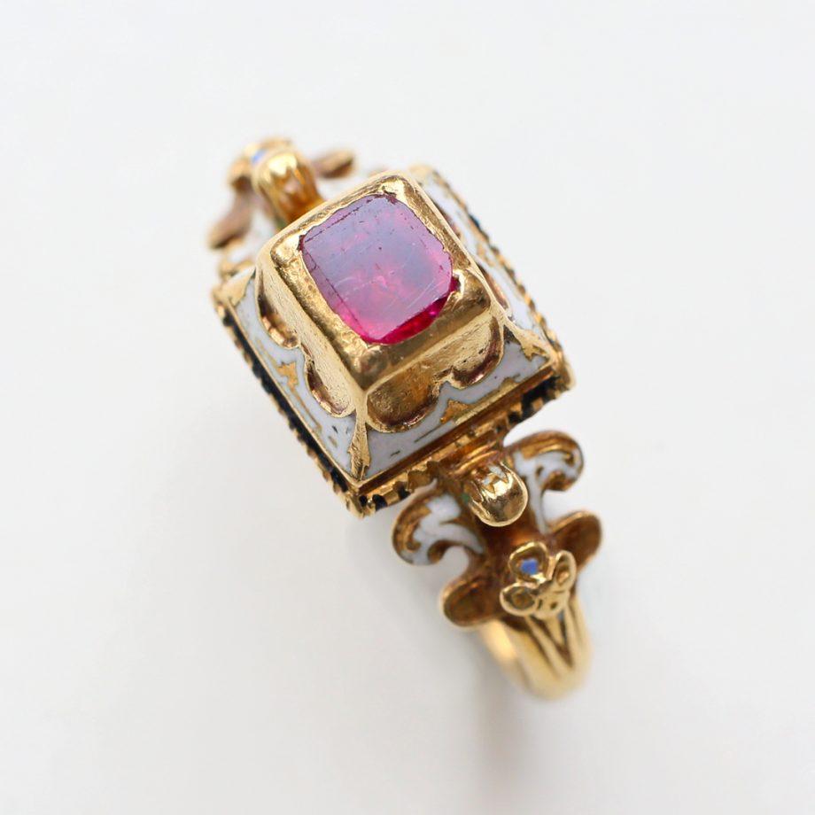 Renaissance Ruby Ring