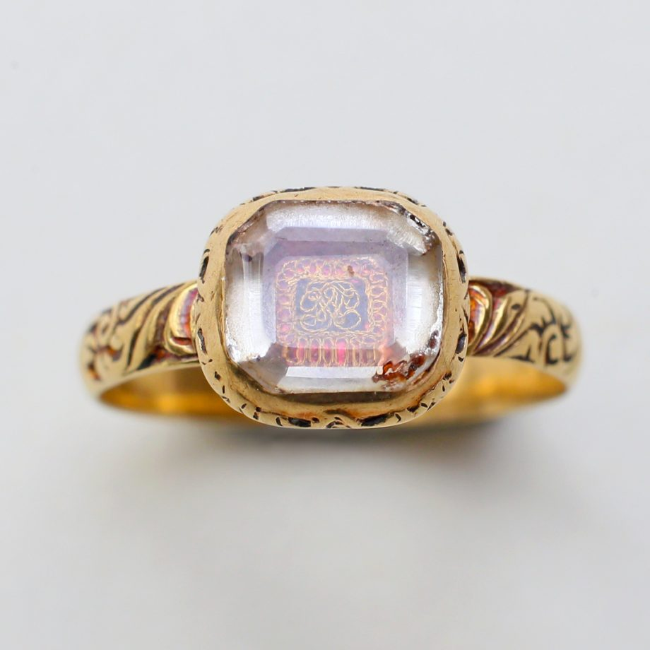 c. 1680-1723 Stuart Crystal Ring