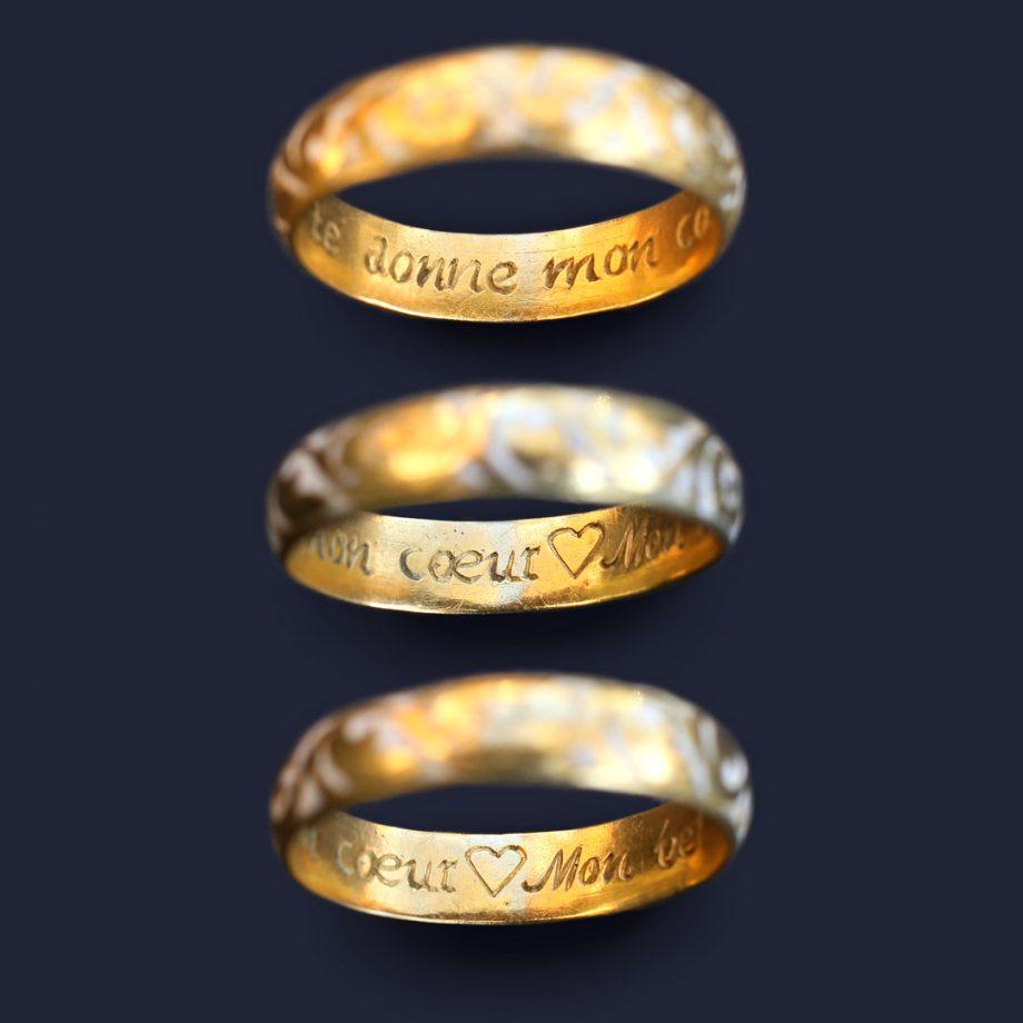 Georgian Posy Ring