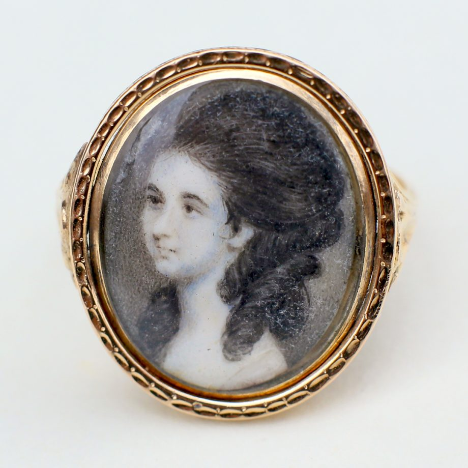 Georgian portrait ring