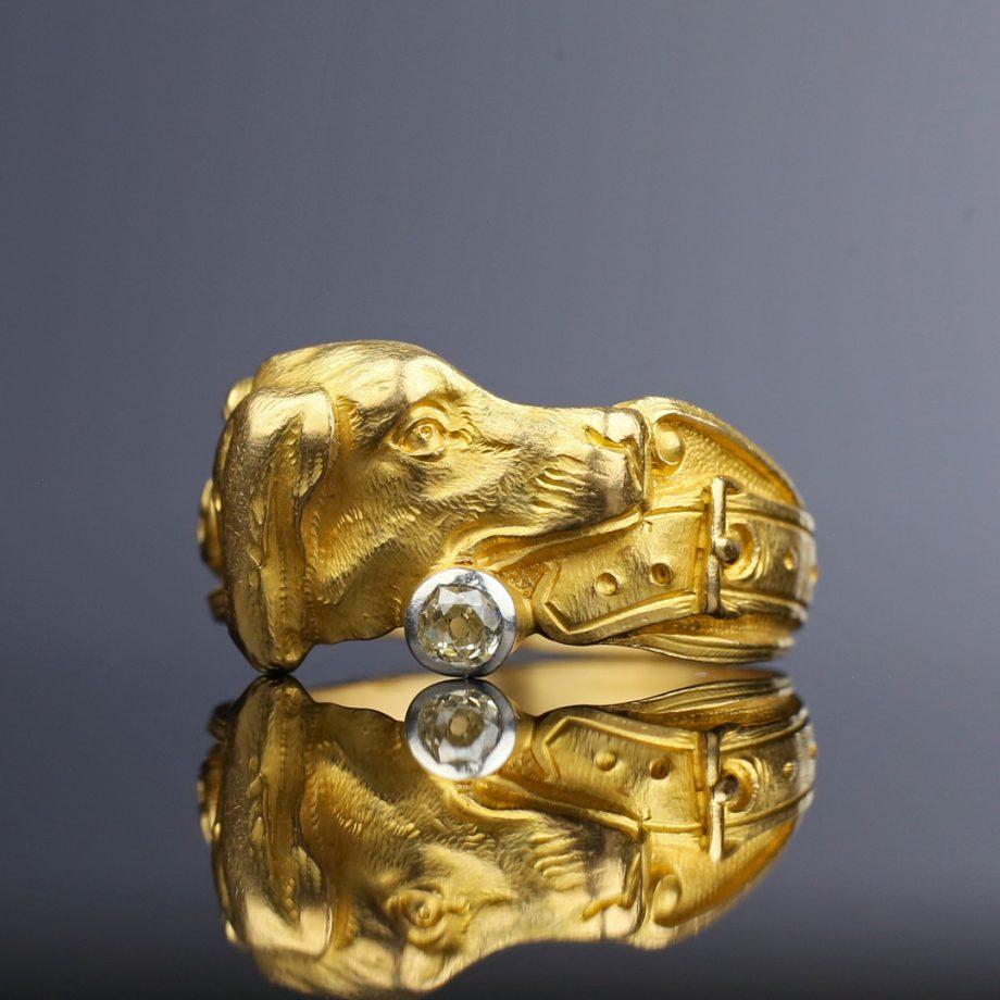Victorian Dog Ring