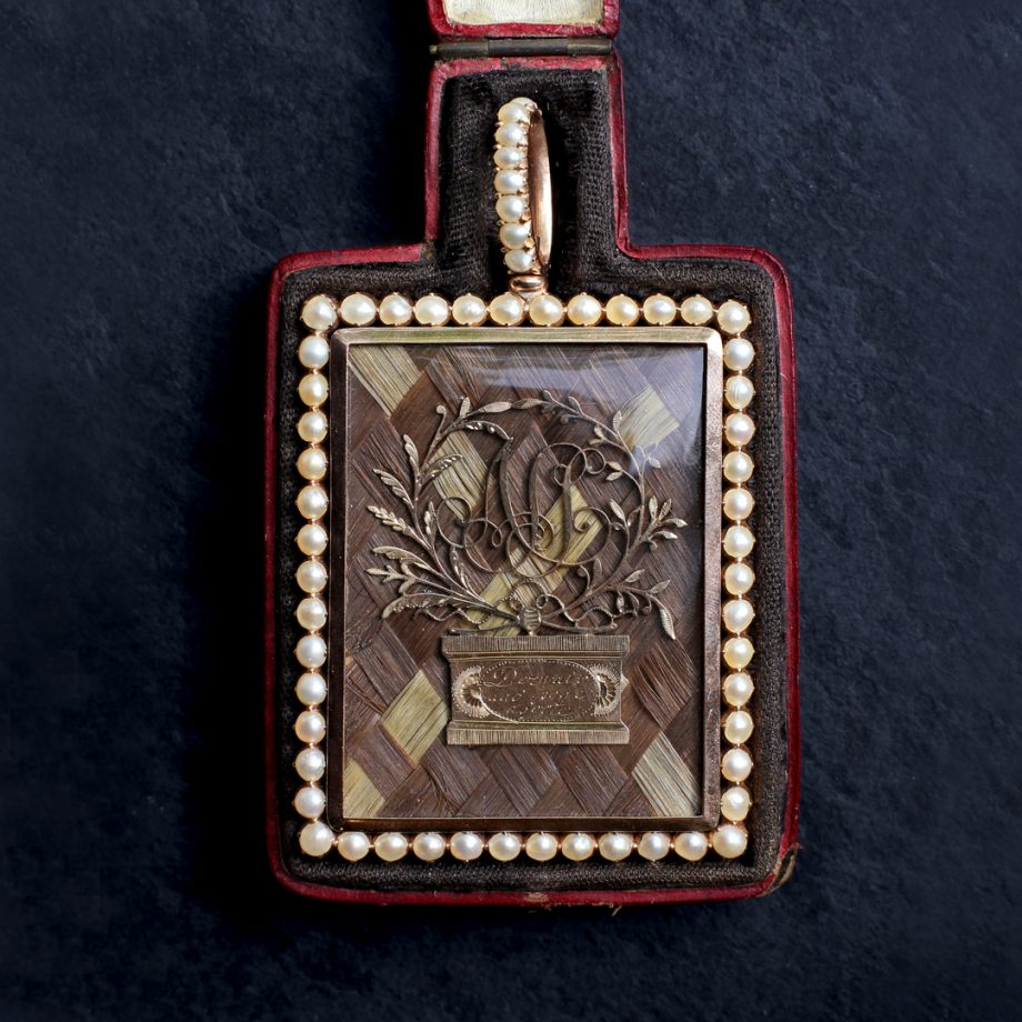 c. 1800 - 1820s Portuguese Sentimental Pendant
