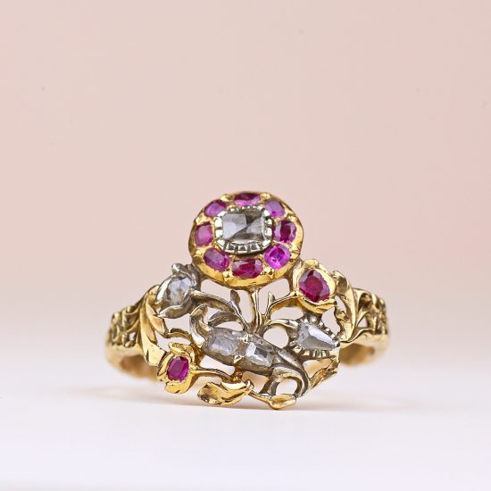 18th century Giardinetti Ring