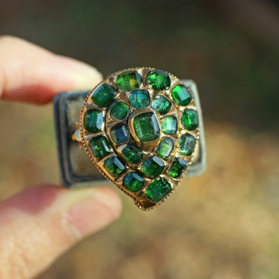 18th century Italian Witch's Heart Ring