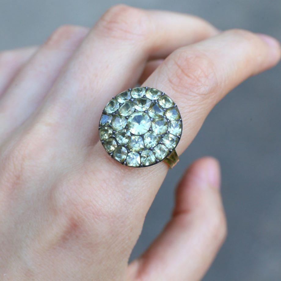 Portuguese Chrysoberyl Ring