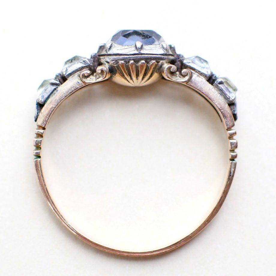 18th century rococo Georgian ring
