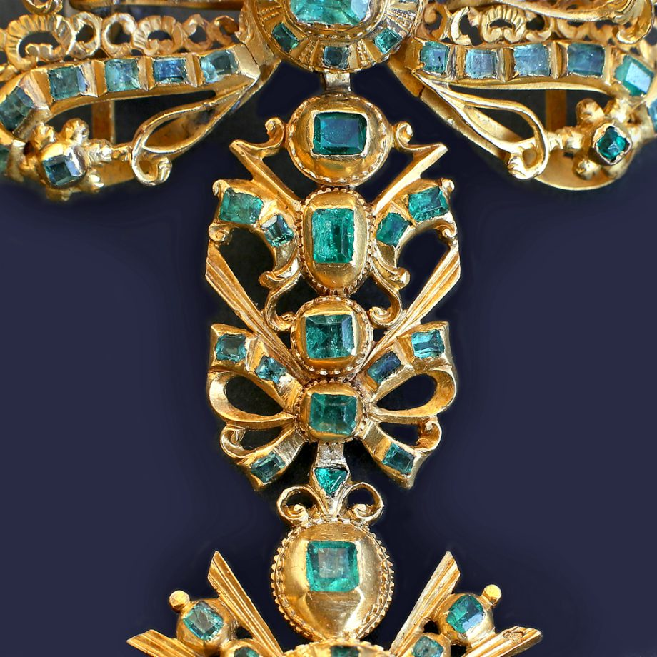 18th century Spanish Emerald Pendant