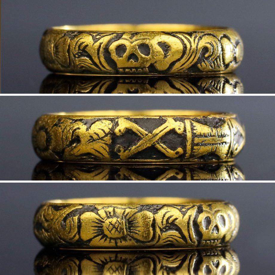 Georgian Skull Ring