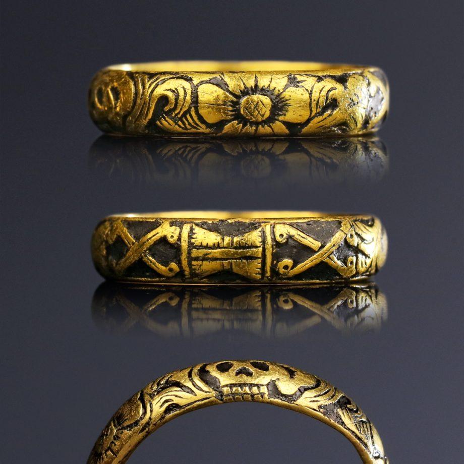 Georgian Memento Mori Ring