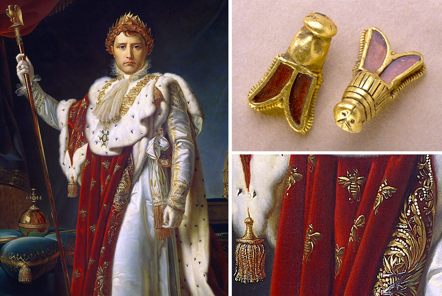 Napoleon and the Bees: How 6th Century Jewelry From the Tomb of Childeric I Became a Symbol of Empire