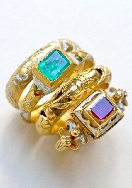 Antique Renaissance and Baroque Rings, 16th - early 18th centuries
