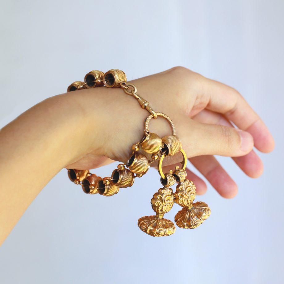 Georgian Gold Fob Bracelet