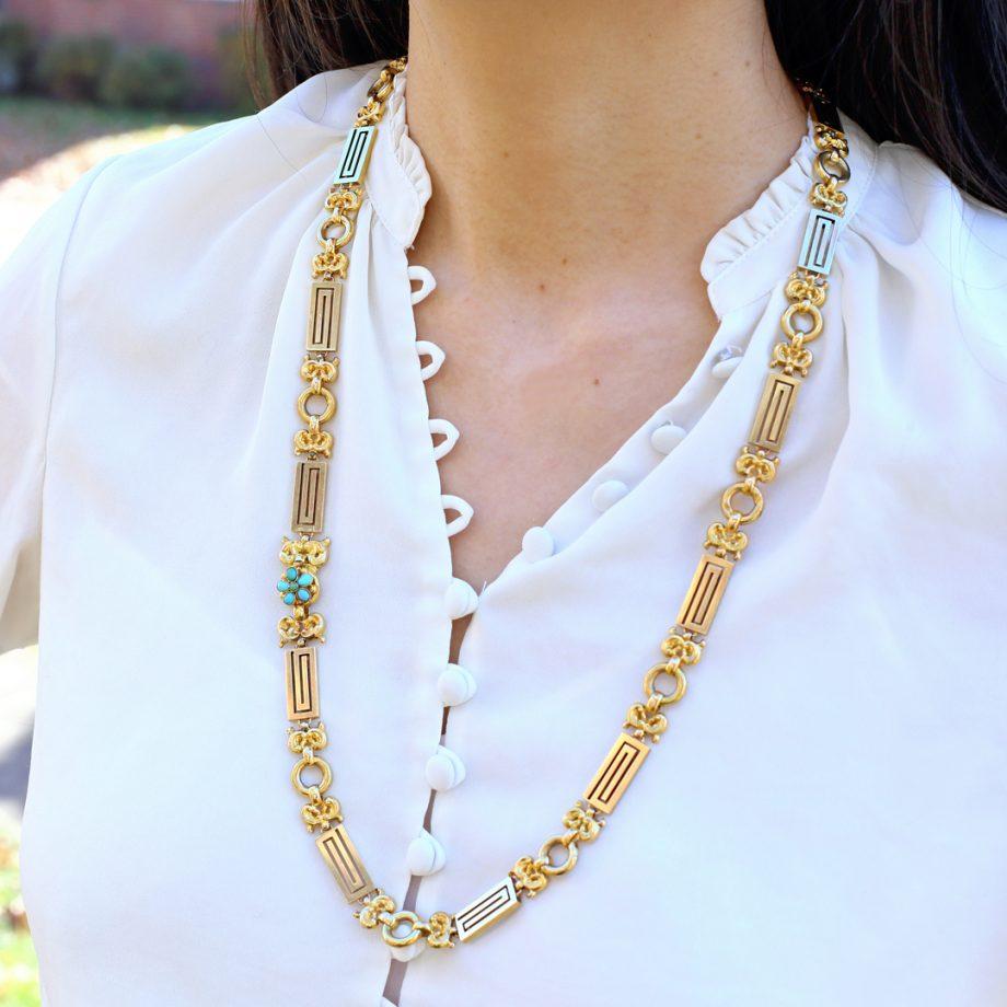 Gold Georgian Chain