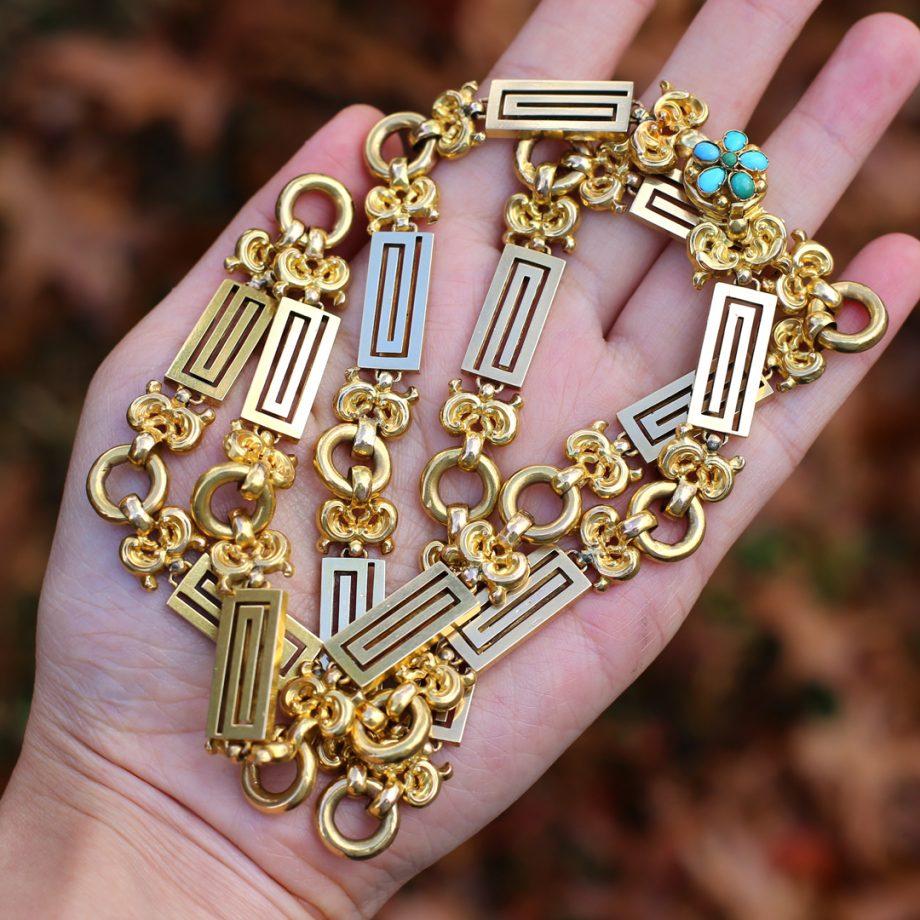 Victorian Gold Chain