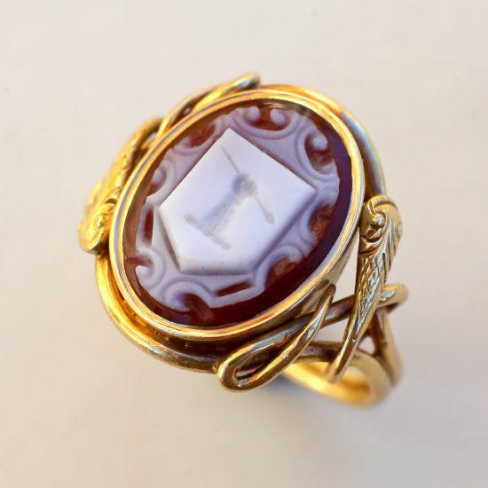 Antique Victorian Signet Ring
