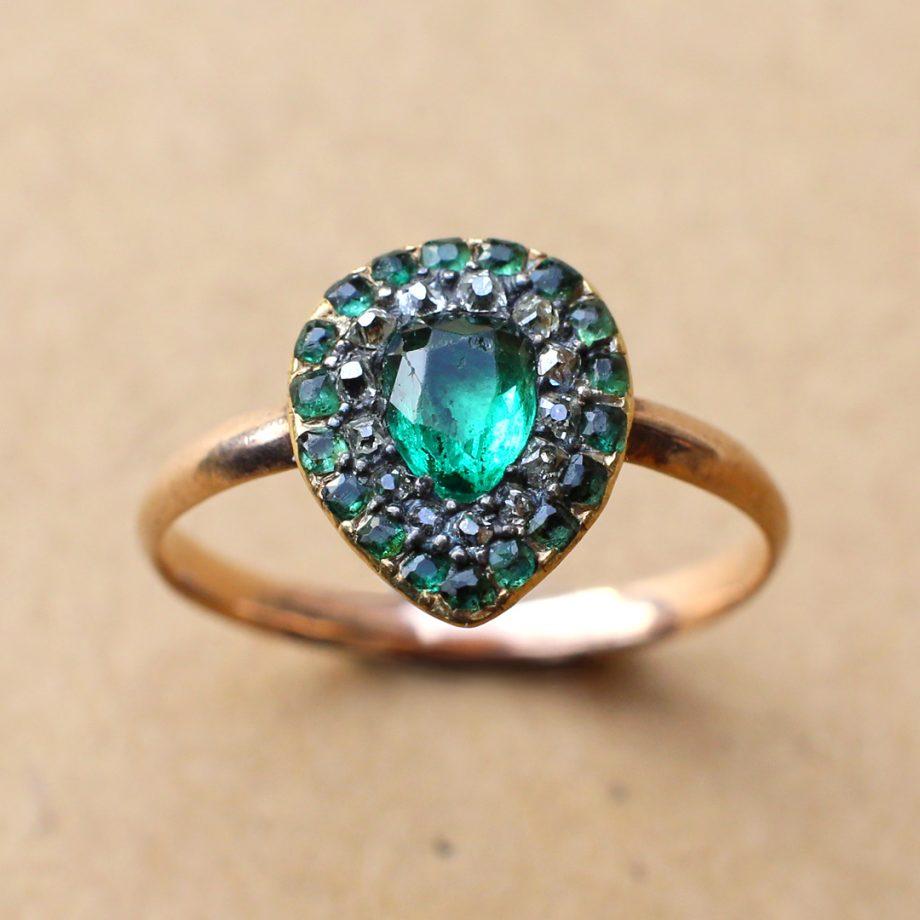 Georgian Heart Ring