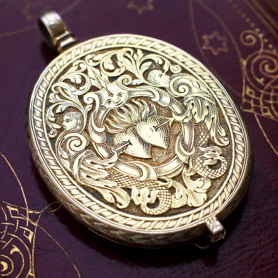 17th century locket