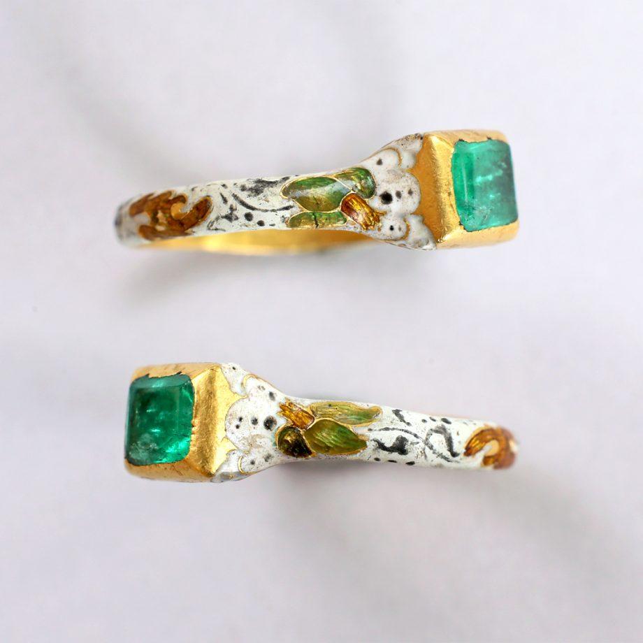 17th century emerald ring
