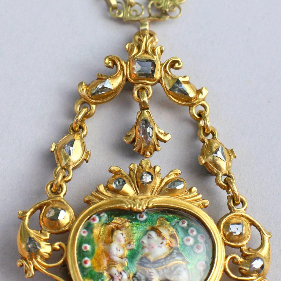 17th century table cut diamond