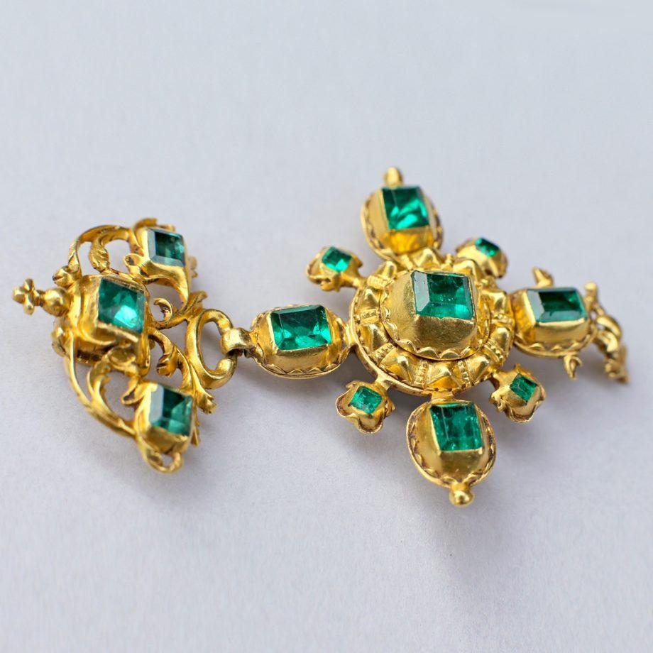17th century Spanish Emerald Pendant
